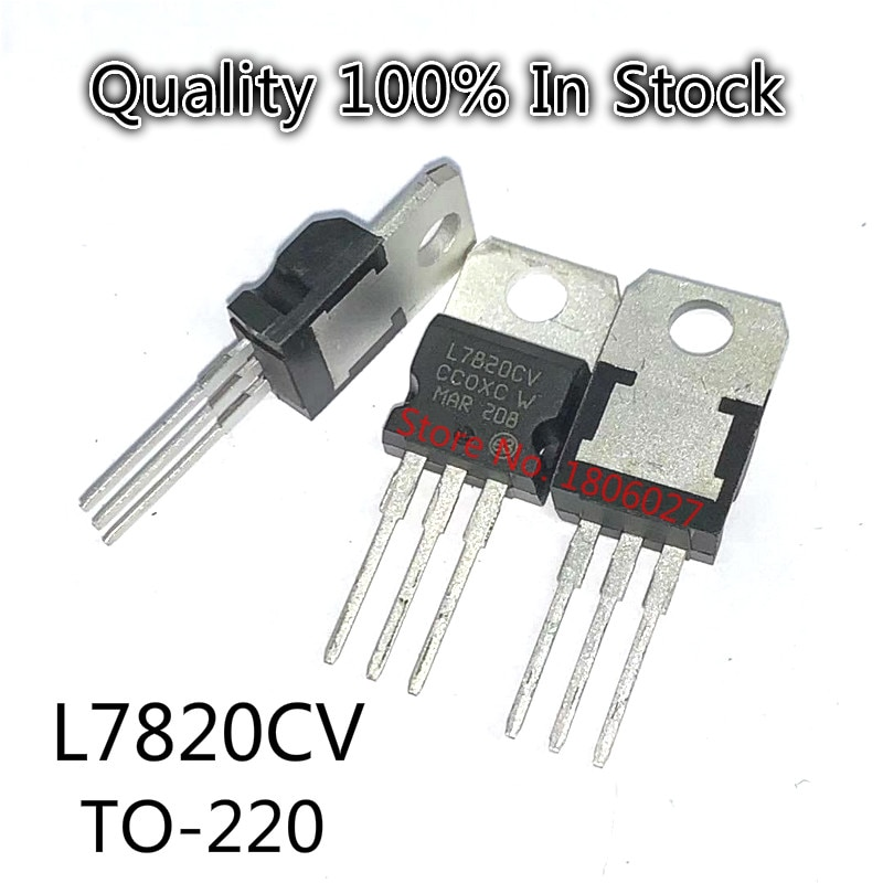 10 Stks/partij L7820CV To-220 Pakket Drie-Terminal Regulator Triode 20V
