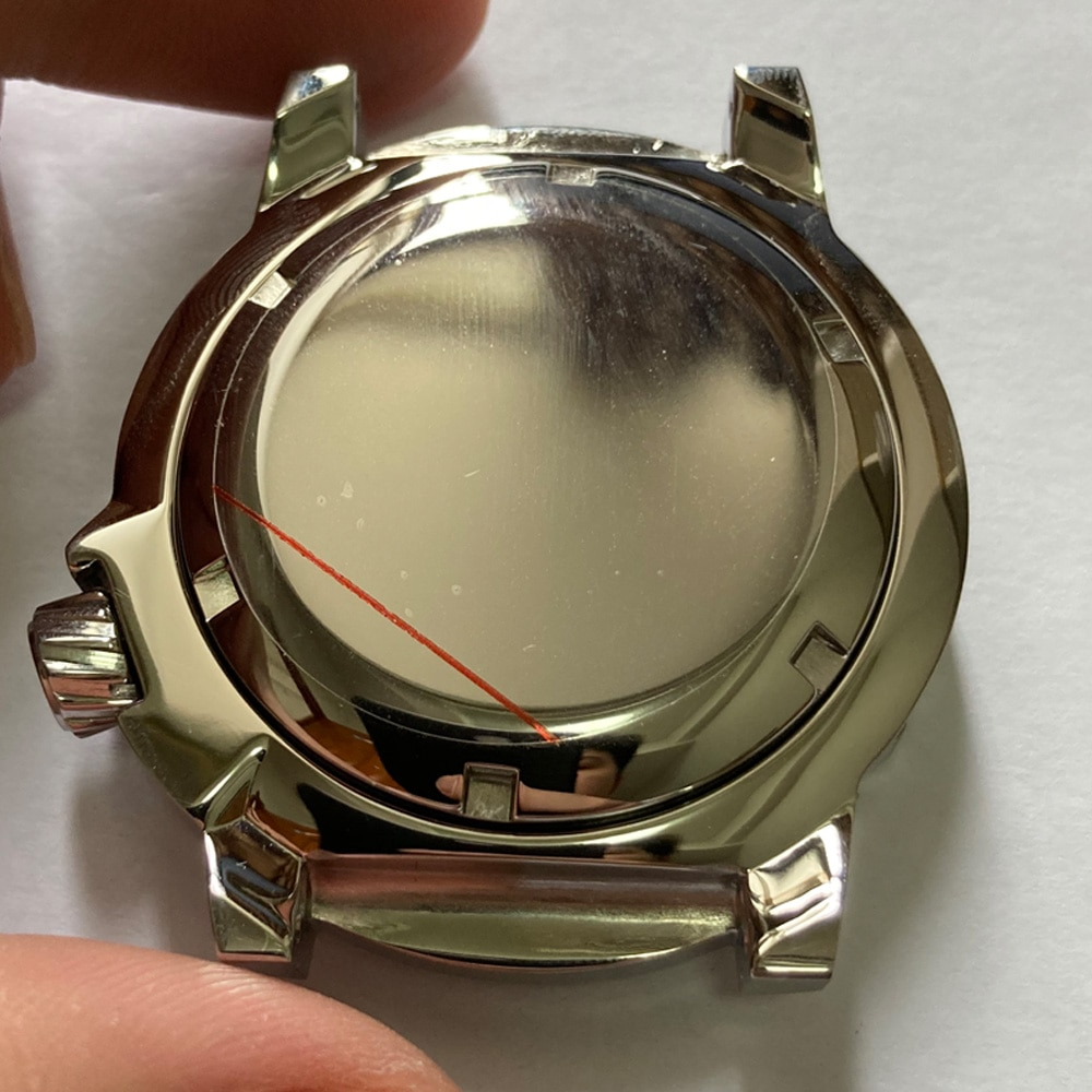 Watch Parts Solid 42.7mm Stainless Steel Watch Case Rotating Bezel 200M Water Resistance Suitable For NH35/36 Automatic Movement enlarge