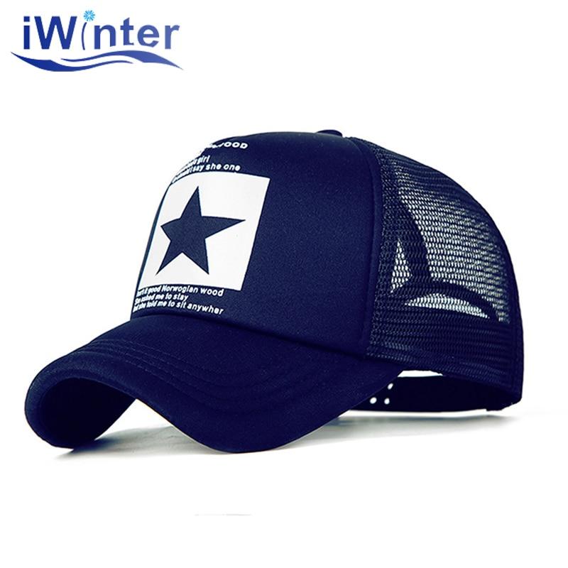 IWINTER 2020, Dropshipping, gorra de béisbol para mujeres y hombres, gorra de malla, gorra Snapback, gorra de béisbol ajustable, venta al por mayor