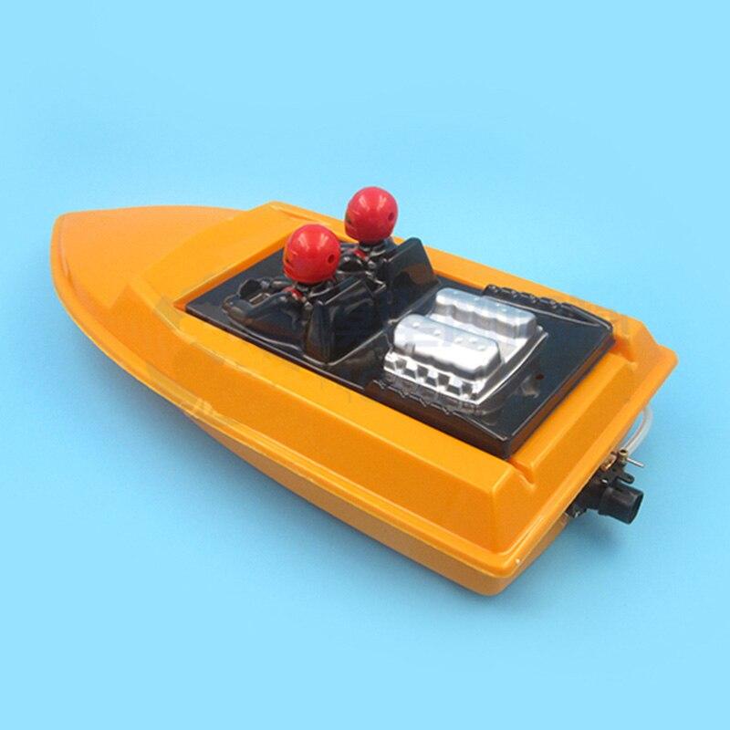 Rc velocidade barco casco + kit de potência total jet motor conjunto conduzido 2440 brushless motor + 15mm jet boat bomba esc cooler servo push rod peças