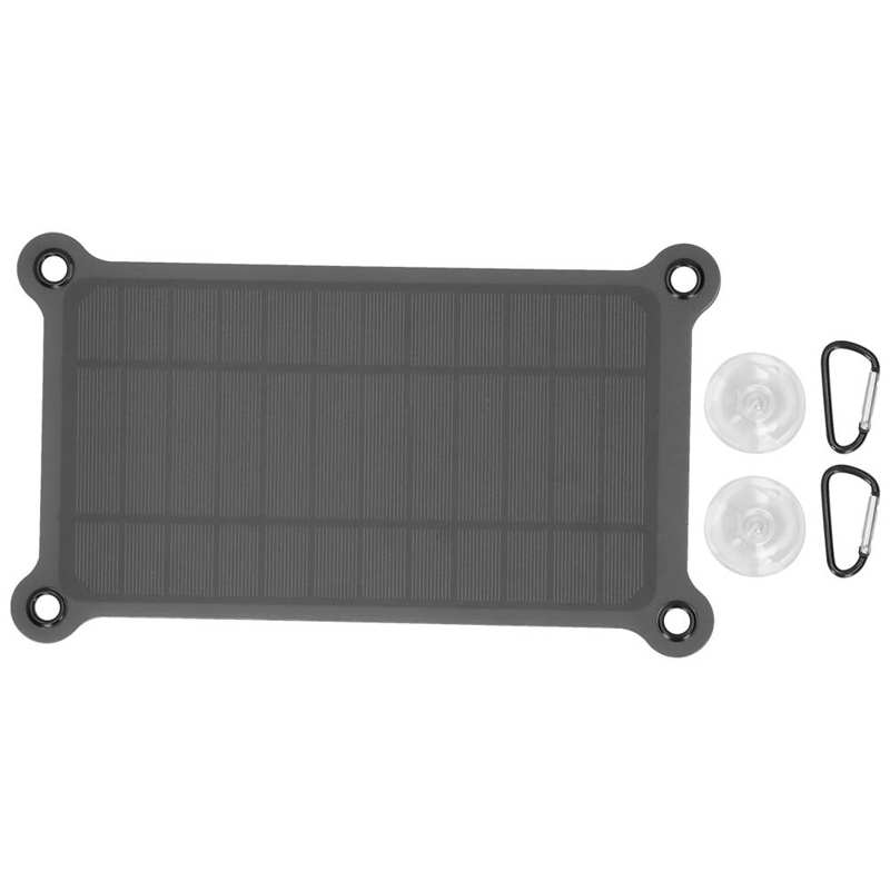 6W Solar Panel Monocrystalline Silicon Solar Panel Solar Charger Panel Solar Cell Panels Module For Phone Charging XXM285-165