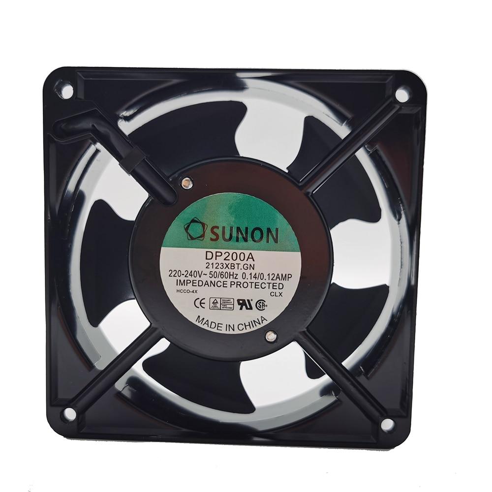 AC 220V fan For Sunon DP200A P/N 2123XBT.GN 0.14A 12038 220V 120*120*38mm industrial case cabinet cooling fan 120mm new nmb original 12038 24v 0 46a 4715kl 05t b40 120 120 38mm cooling fan