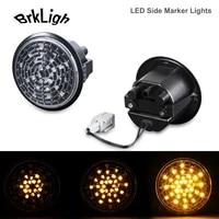 2pcs dynamic led side marker left right indicator light turn signal blinker lamp for nissan 370z z34 coupe nismo roadster 09 20