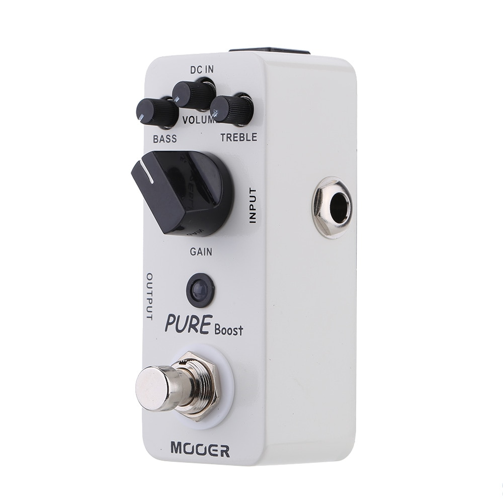 Mooer Mbt2 Pure Boost Effect Electric Guitar Processor for Acoustic Guitar Parts Pedal Effect Bass Treble Gain Boost Effector enlarge