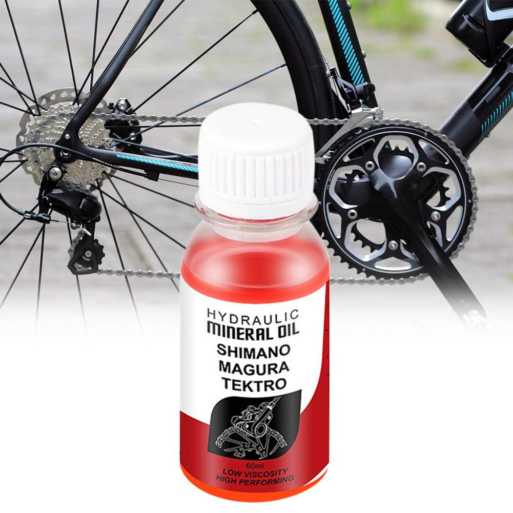 Bicycle Brake Mineral Oil System 60ml Fluid Cycling Riding Mountain Bikes For Shimano Mountain Bike Accessories Dropship