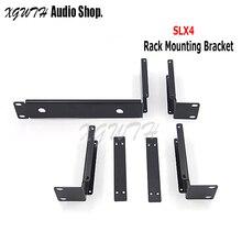 Metal Rack Mounting Bracket Antenna Extension Cable Rack Kits For Shure SLX Wireless Receiver SLX4 BETA58A SM58 Wireless Mic