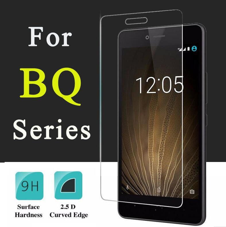 Tempered Glass Screen Protector For BQ U Lite U Plus Aquaris U  9H Hard Hi-Q 0.3mm 2.5D Explosion Pr