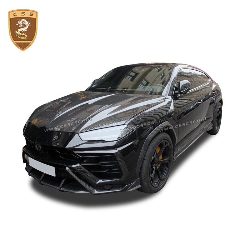 Top Design Volle Aero Kits Trim Für Lamborghini Urus TPC Stil Trockenen Carbon Faser Körper Kit Tuning Für URUS Racing