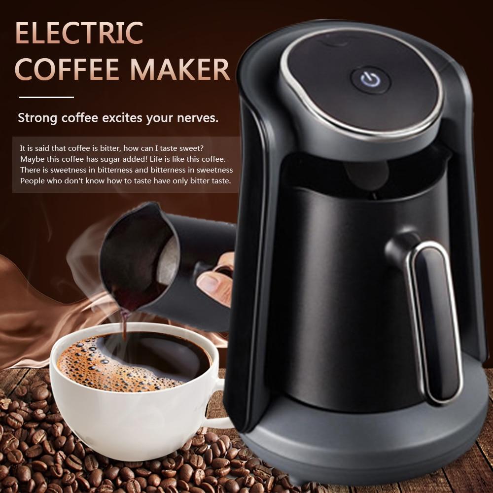 جهاز صنع قهوة كهربائي أوتوماتيكي لصنع لاتيه كابتشينو أمريكانو متعدد الألوان كوب صغير الحجم