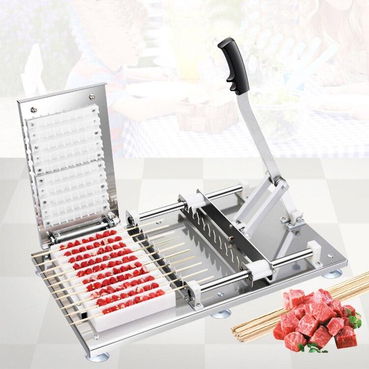 Kebab skewer bbq machine kebab skewering machine for ground beef enlarge
