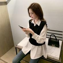2021 Spring and Autumn Long Sleeve Shirt Women's Design Sense