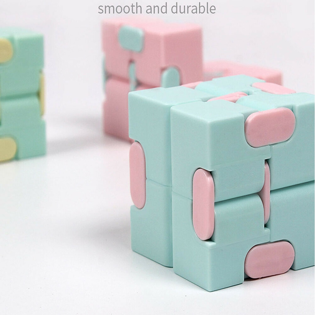 Magia quadrado quebra-cabeça estresse reliever fidget cubo dedos das crianças descomprimir leve magia quadrado quebra-cabeça brinquedos crianças brinquedo