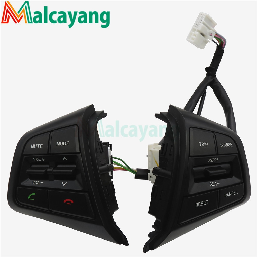 Multimedia para Hyundai Ix25 Creta 1.6L 2.0L botones de Control de crucero de volante botón de Control remoto de volumen