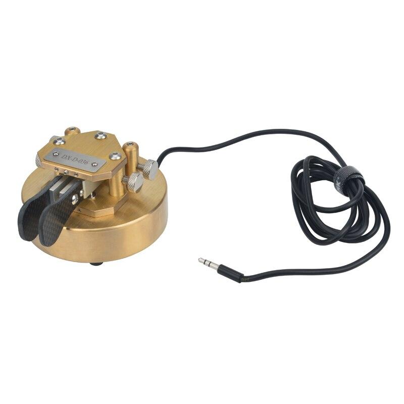 Morse-مفتاح iampic مع عودة مغناطيسية ، 100% النحاس النقي ، جهاز إرسال واستقبال HF