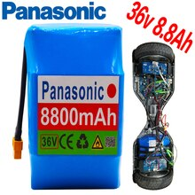 Panasonic 10s2P 36V 8800mAh Lithium-Ionen Akku 8,8 Ah Einzigen Zyklus Spannung Hoverboard Batterie