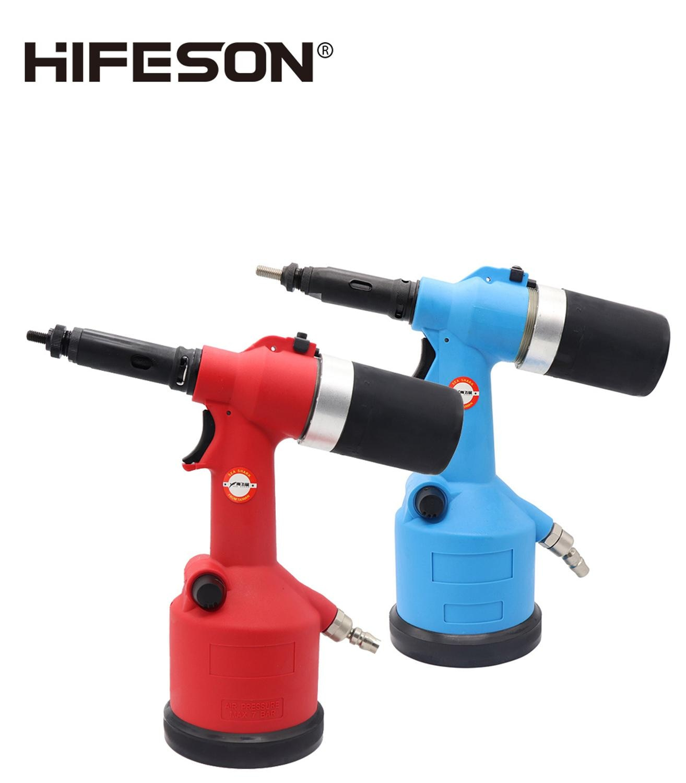 HIFESON-مسدس صامولة برشام هوائي ، إدراج أوتوماتيكي ، ملولب ، مستخرج ، أداة للصواميل M3 M4 M5 M6 M8 M10 M12