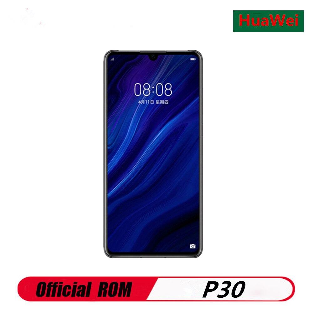 "Version internationale HuaWei P30 ELE-L29 téléphone portable Kirin 980 Android 9.1 6.1 ""2340X1080 6GB RAM 128GB ROM 40.0MP NFC IP53"