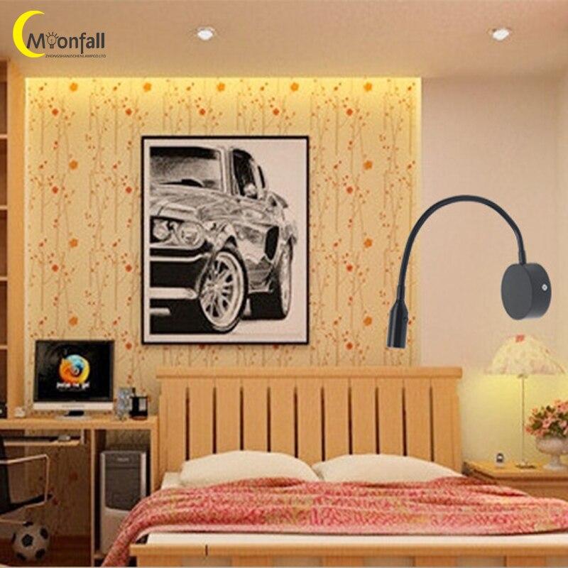 Cmoondrop-Lámpara de mesita de noche para decoración de Dormitorio nórdico, Aplique de...