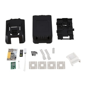 Replacement for Makita 18V BL1850 BL1830 Battery Case Kit with PCB Circuit Board LED Indicator Power Tools Battery Case