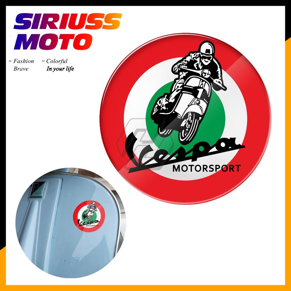 Etiqueta engomada de la bandera de Italia de la etiqueta de la motocicleta 3D para la caja de la etiqueta de la Vespa Sprint GTS GTV LX PX GS