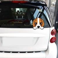 lovely beagle puppy dog car decoration sticker decals vinyl auto motorcycle body decor styling kk1111cm
