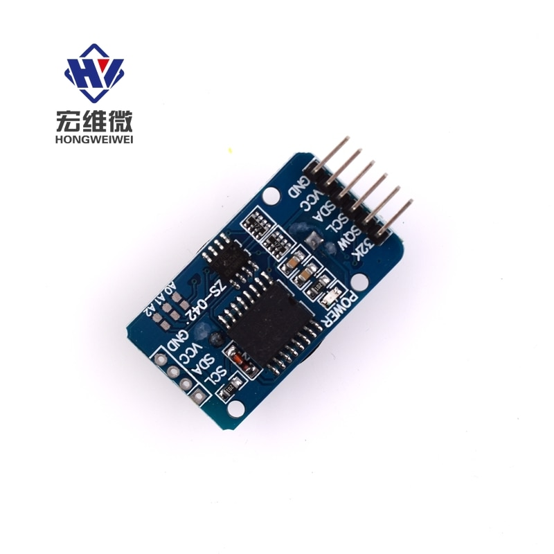 DS3231 AT24C32 High Precision Real Time 3.3V/5V Clock Module IIC Module Memory Module with Battery for Arduino KIT New Original high precision ds3231 clock module at24c32 iic rtc real time memory module for arduino raspberry pi avr arm