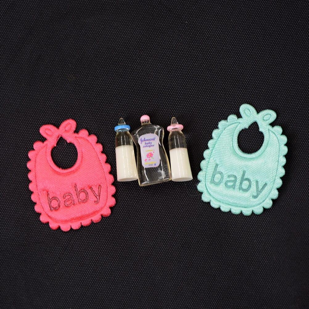 Купить его! 2021 Новый 1:12 кукольный домик миниатюра Детские аксессуары подарок шампунь с рисунком для детей, детские бутылочки комплект для к...