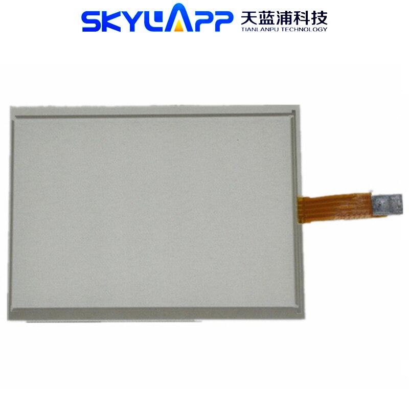 شاشة تعمل باللمس مقاس 6.5 بوصة ، 4 أسلاك ، مقاومة 143 × 117 مللي متر ، لوحة تعمل باللمس ، إصلاح محول رقمي زجاجي ، AUO G065VN01 ، جديد