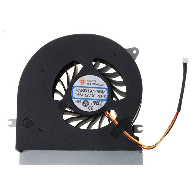 2020 Original nuevo ventilador de CPU para MSI GT72 GT72S GT72VR 6QD 6RD MS-1781 MS-17 ventilador de refrigeración de la CPU enfriador PABD19735BM 3Pin 0.65A 12VDC