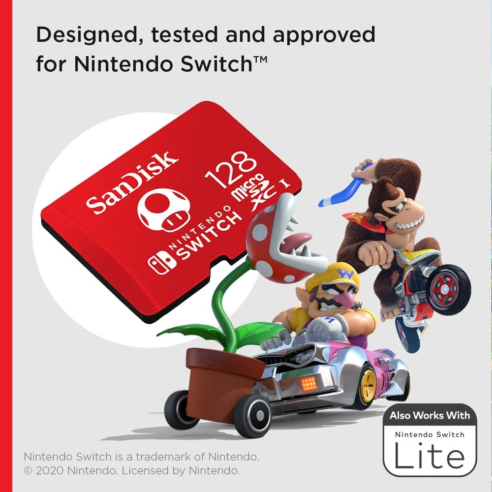 Sandisk Nintendo Switch Micro SD Memory Card With Games 64GB 128GB 256GB Micro SD Carte Memoire Nintendo Switch Flash Card Games enlarge