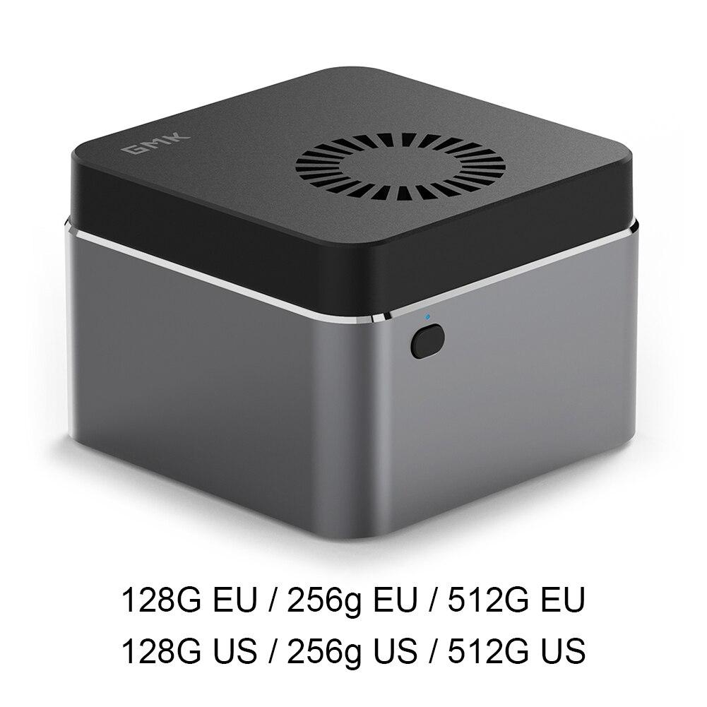 كمبيوتر مصغر GMK articbox Windows 10 64-Bit J4125 UHD Graphics 600 8GB LPDDR4 128GB 256GB 512GB SSD 4K كمبيوتر مكتبي صغير