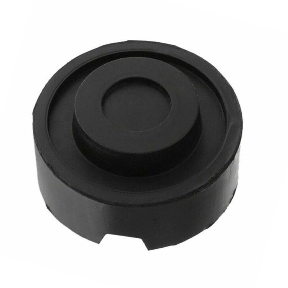 Universal Car Rubber Jack Pad ranurado marco riel suelo adaptador de protección de elevación herramientas negro Exterior accesorio
