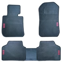 high quality waterproof anti skip no odor green latex durable carpets special rubber car floor mats for f30 e90 3 series