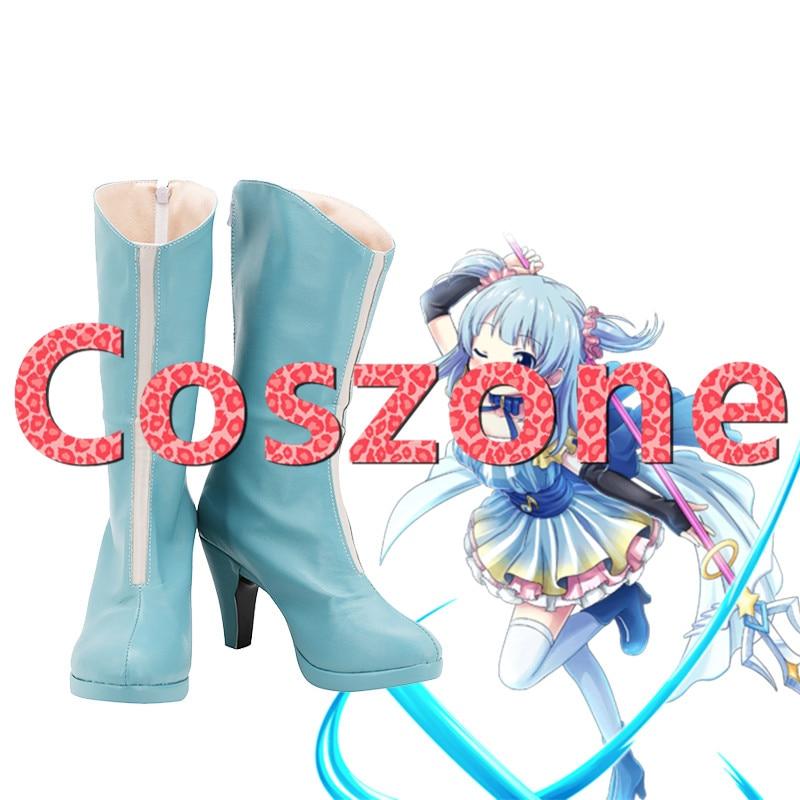 Magia Records Puella Magi Madoka Magica Gaiden Rena Mizunami Cosplay Shoes Boots Halloween Carnival Cosplay Costume Accessory