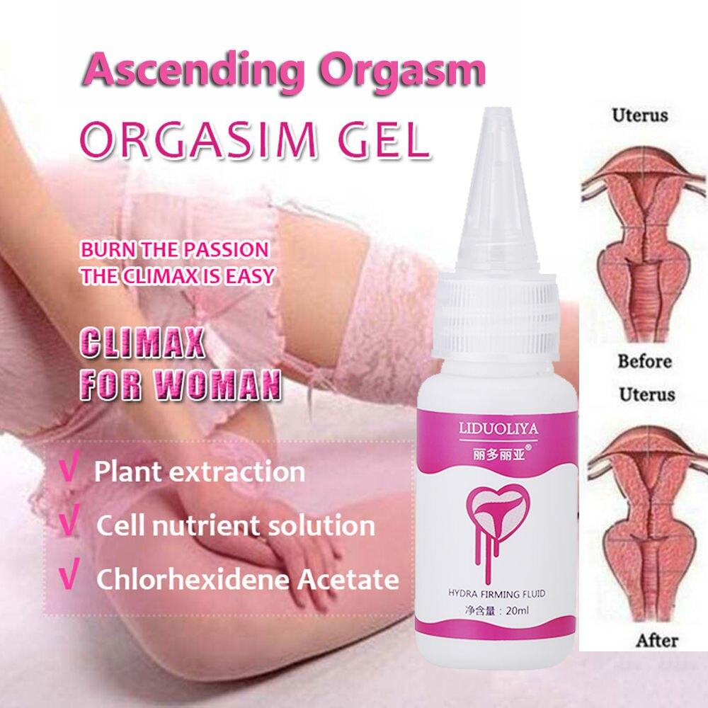 Shop Women Orgasm Vagina Tightening Gel Moistening Enhancer Aphrodisiac Increase Female Libido Sexual Stimulant Online