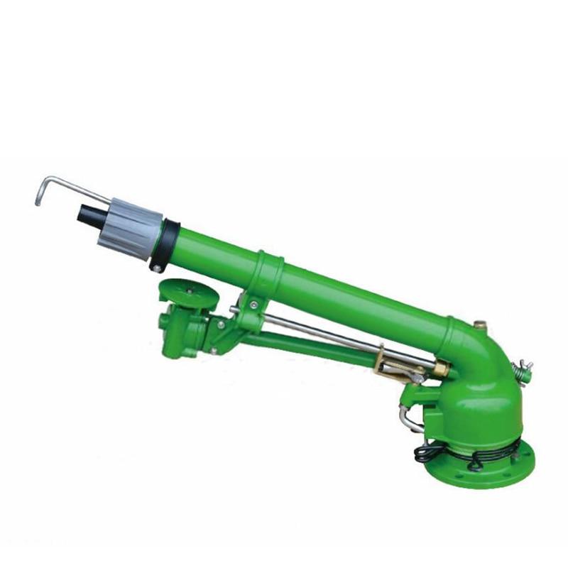 Agricultural Spray Gun Metal Flange Big Water Irrigation Sprinkler for Dust Suppression Farmland Irrigation