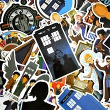 50 Pcs Doctor Who Sticker Voor Kids Anime Laptop Stickers Pack Skateboard Motorfiets Meisje Speelgoed Voor Kinderen Cool Dier Sticker