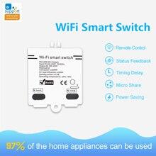 EWelink WIFI Smart Switch Wireless Remote Control 5A 100-250V WiFi Smart Home Modified Accessories Modified Switch