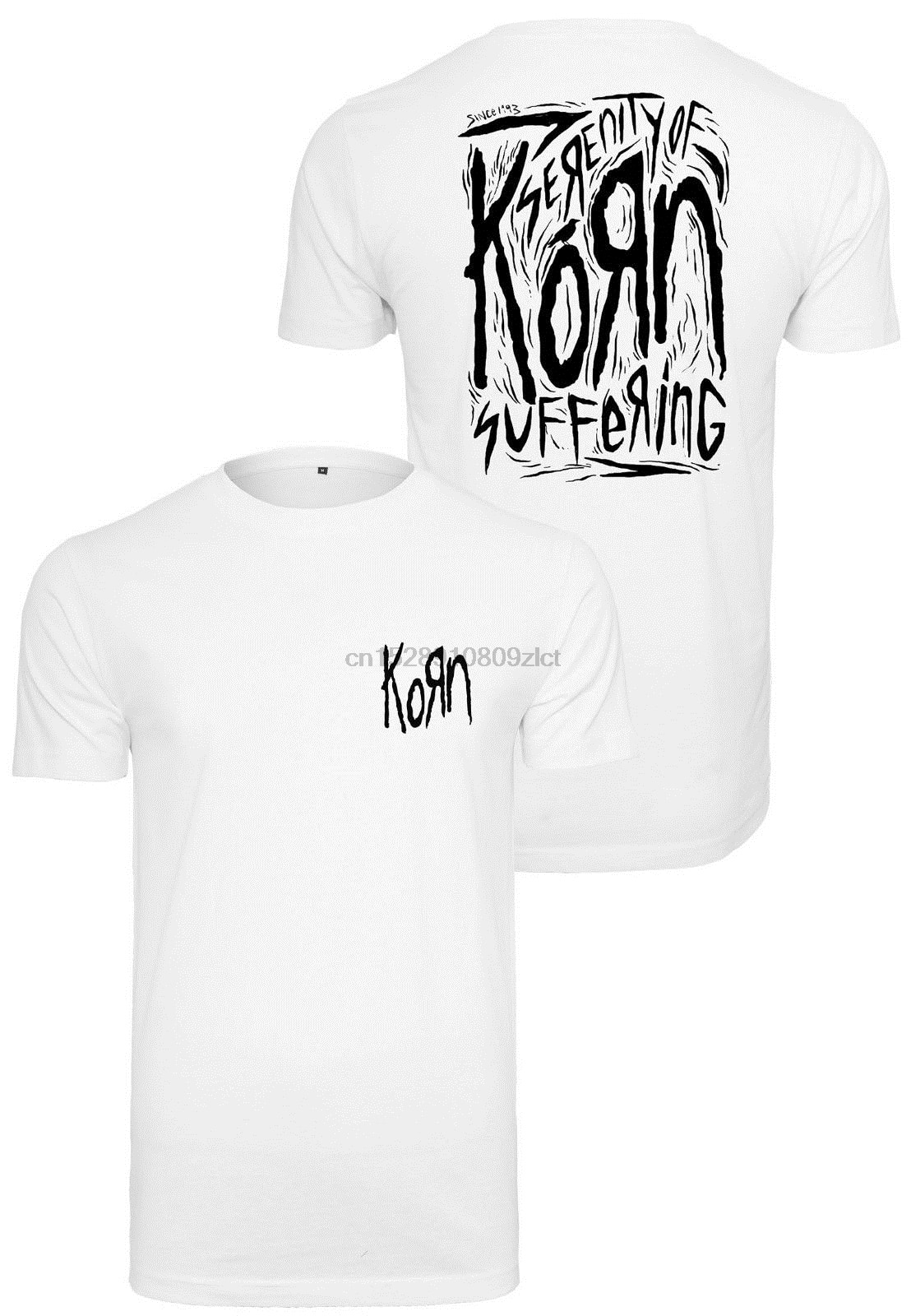 MERCHCODE Джерси мужская футболка с коротким рукавом Korn Suffering Tee