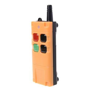 AK-G06T Factory Supply High Grade Remote Control 315/433MHZ Wireless Industrial Crane Truck Remote Controller 4/6 Button Keys