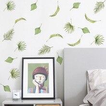 Zollor autocollant mural Tropical verdure créatif maison chambre salon canapé bricolage créativité fond mur décoration pâte