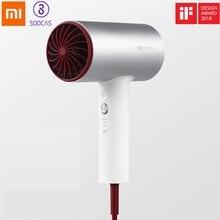 SOOCAS H3S Negative Ion Hair Dryer for Xiaomi Mijia 1800W Professional Blow Dryer Aluminum Alloy Powerful Electric Dryer EU Plug