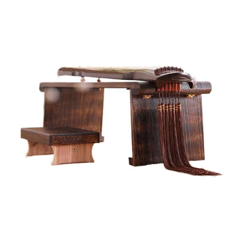 طاولة بيانو خشبية قابلة للطي ، أثاث آسيوي صيني عتيق ، أرضية خشبية تقليدية شرقية ، طاولة شاي قابلة للطي
