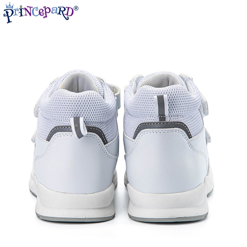 Princepard Kids Orthopedic Shoes Children Autumn High Top Sneaker Boys Girls Correct Flatfoot Toe Walking Arch Support Care enlarge