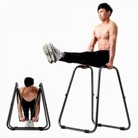 wolface multifunctional detachable parallel bars body press dip bar fitness station heavy duty strength power training stand