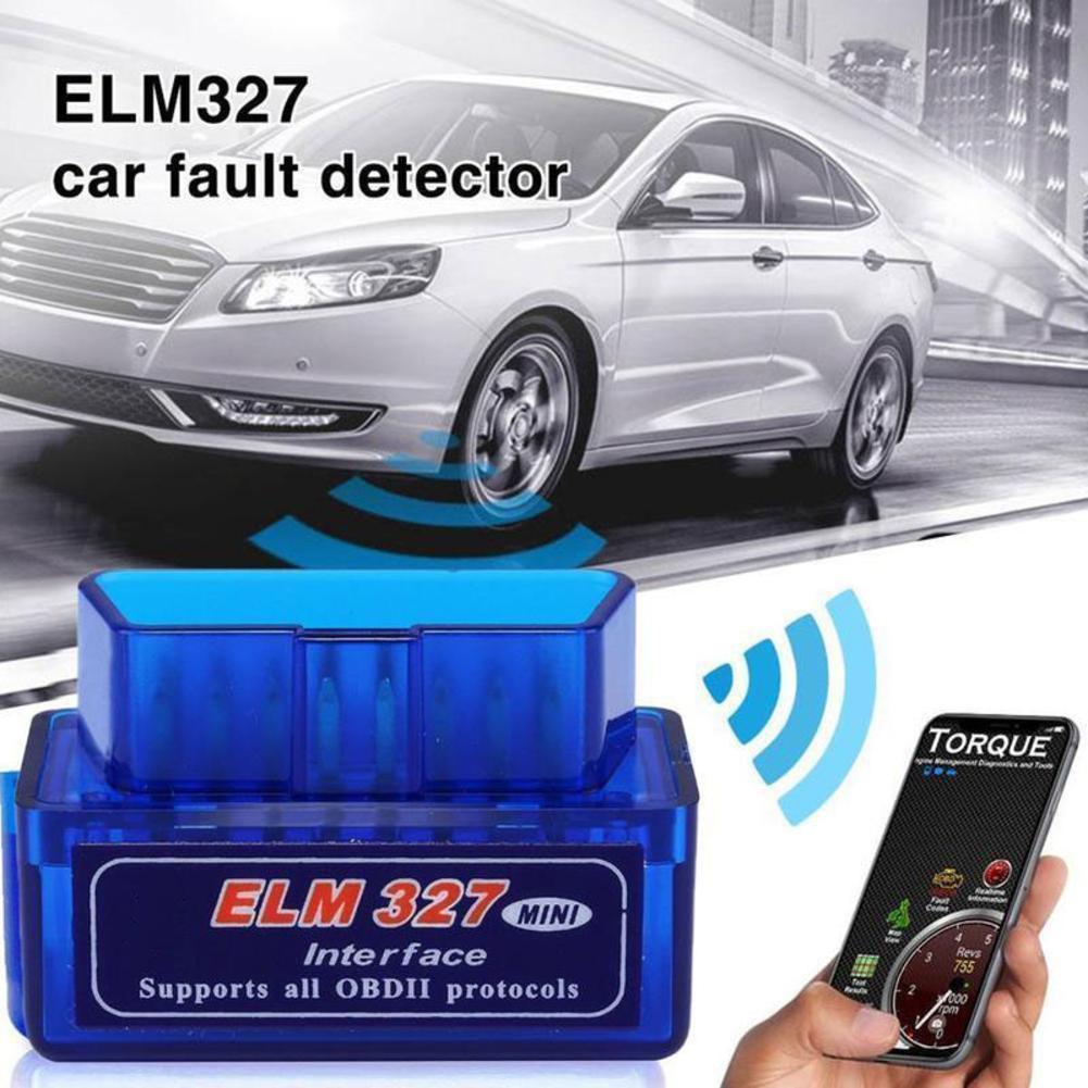 Мини ELM327 OBD2 OBDII сканер Bluetooth Wifi протоколы Автомобильные диагностические инструменты считыватель кодов для Android ПК Torque