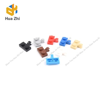 10PCS 11476 Plate Special 1x2 with Clip Horizontal on Side Building Blocks Parts MOC  DIY Education Build Toys  Brick