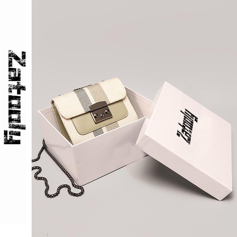 Nuevo estilo en 2019, moda francesa nicho pequeño CK limitado de alta calidad bolsa de sensación, bolsa inclinada, bolsa de la cadena,