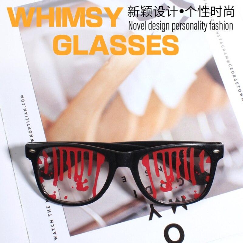 Очки на Хэллоуин кровавый ужасные очки для вечеринок, реквизит для фото украшение Hoilday смешные солнцезащитные очки поставки