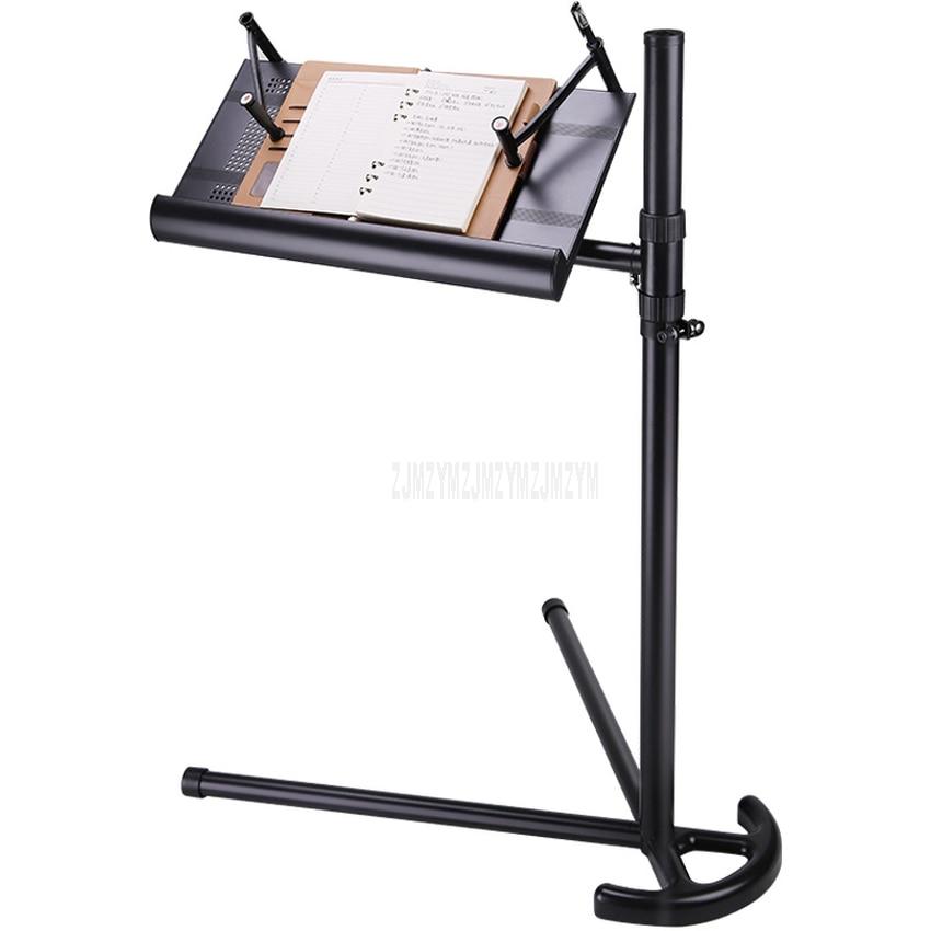 Suporte de Mesa Ajustável para Notebook Desktop Rotatable Livro Portátil Mordern Cama Mesa Lateral Altura Suporte Bandeja c2 1m – 1.2m